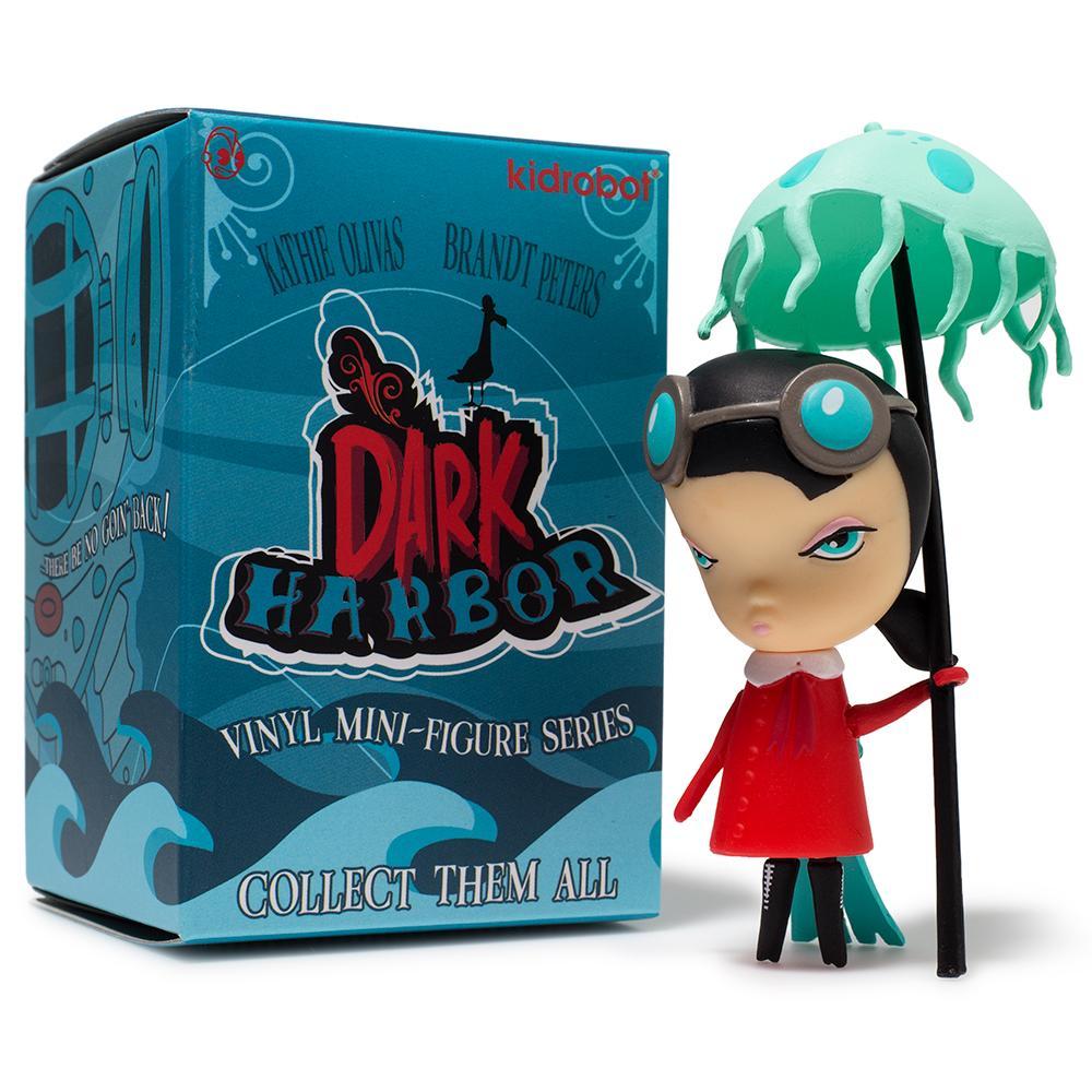 Kidrobot Dark Harbor Designer Vinyle Mini-Figure-Fugu