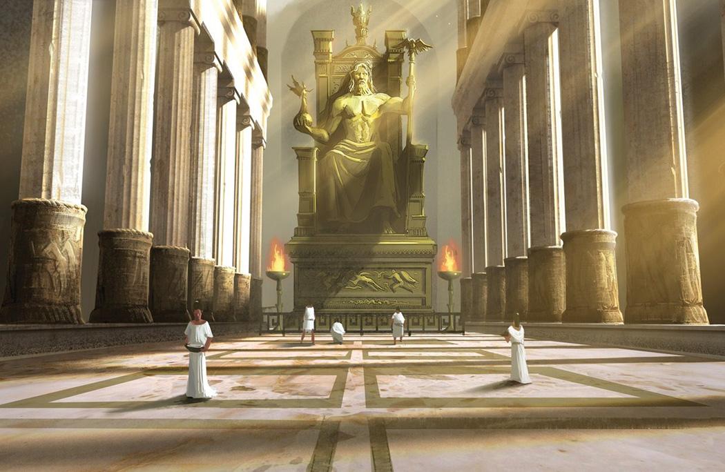 "Iniciarte: A estatua de Zeus en Olimpia en ""La muerte de Sócrates"""