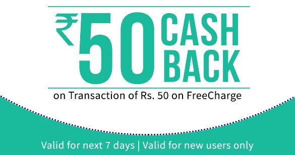 FREECHARGE Get 100rs Recharge