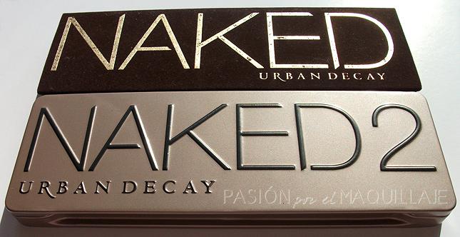Comparación Naked y Naked 2 Urban Decay