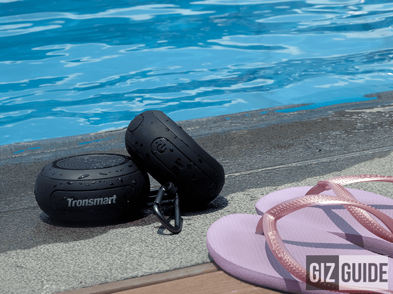 Tronsmart Element Splash Review - Waterproof Wireless Speaker Under PHP 1K