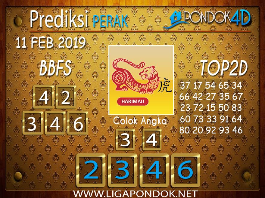 Prediksi Togel PERAK PONDOK4D 11 FEBRUARI 2019