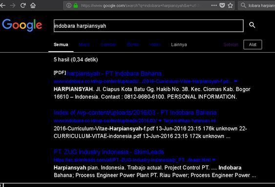 Jobstreet Indobara menyalahgunakan data pribadi privasi pelamar kerja