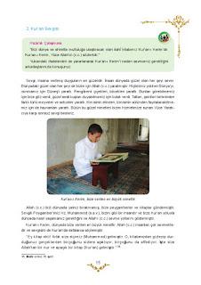 5. Sınıf Kuranı Kerim Ders Kitabı Cevapları Mevsim Yayınları Sayfa 15