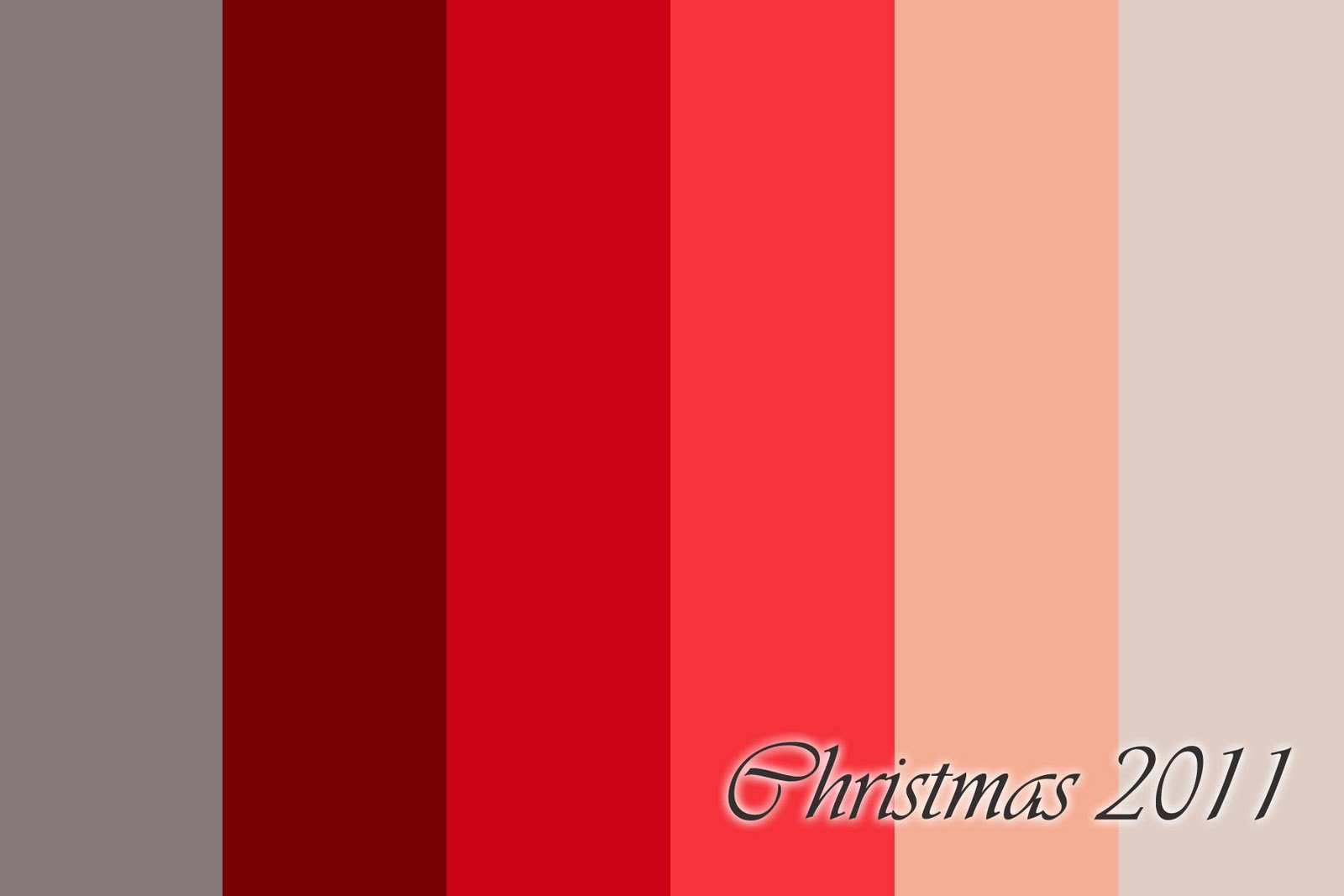 Christmas Colors Palette.Sarah Dawn Designs Digital Christmas Cards 2011 Sneak Peek