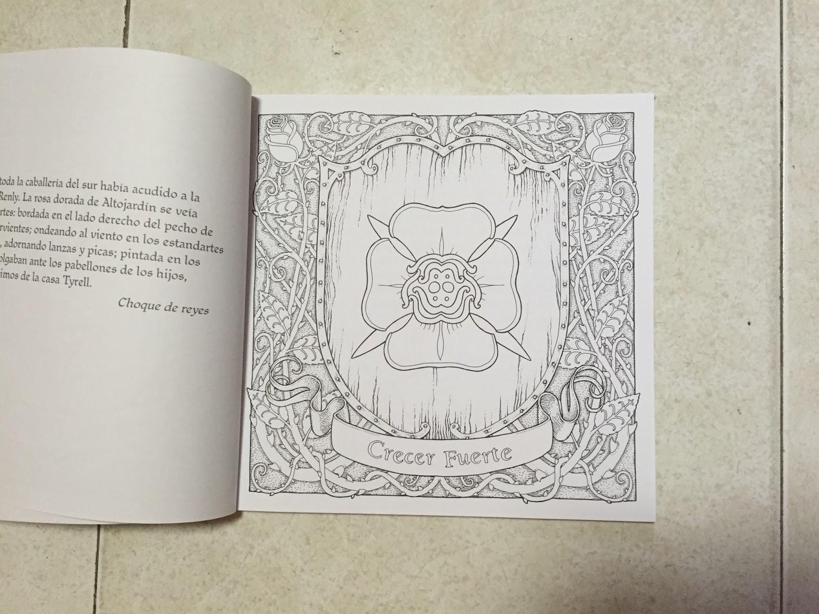 Dragones Literarios: Foto-Reseña: El libro oficial de Juego de ...