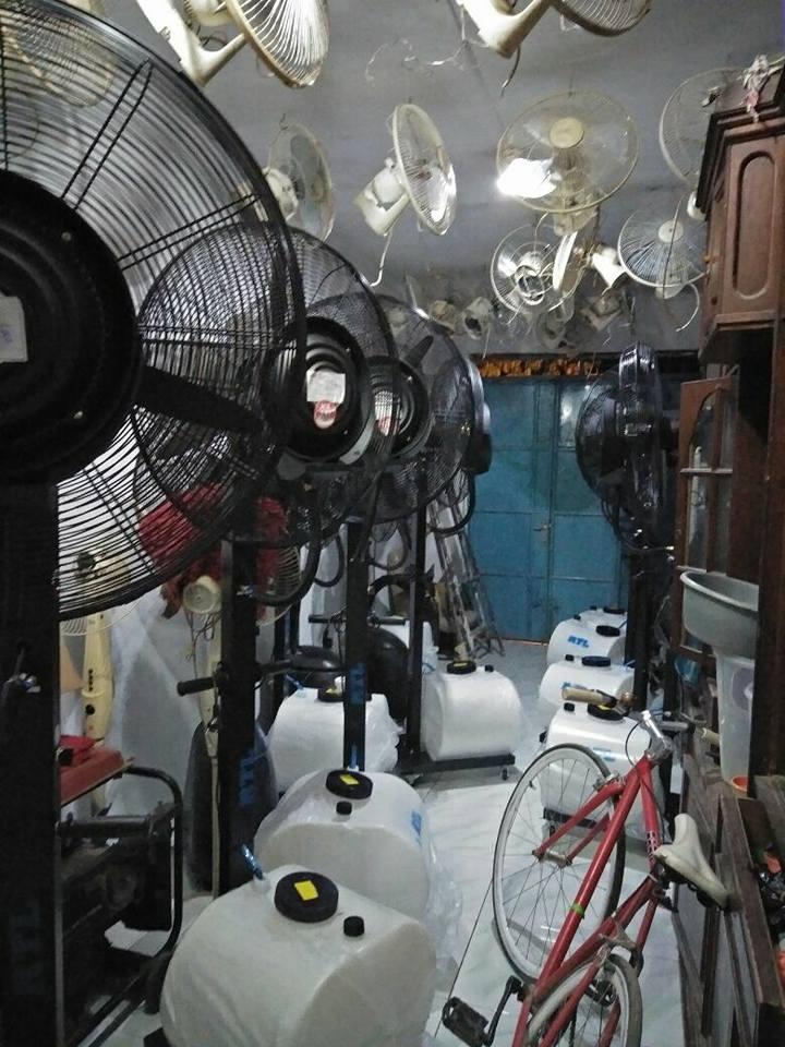 SEWA KIPAS ANGIN AIR » Sewa Cooling Fan, Misty Fan, Sewa