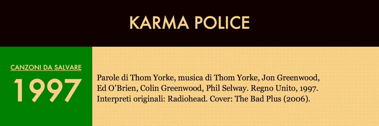 La suite dei Radiohead. Nel 1998 i lettori della rivista inglese Q  giudicarono OK Computer miglior album di tutti i tempi (al secondo posto  Revolver dei ... 29a32a203d9