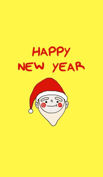 Santa, Happy New year