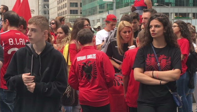 "Albanian Parade in New York ""Arbëreshes and their Culture"""