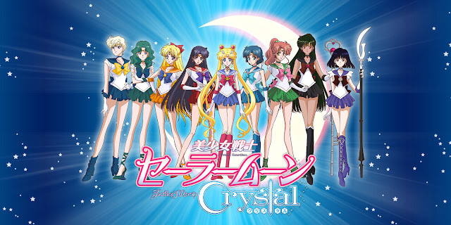 Sailor moon crystal sailor characters