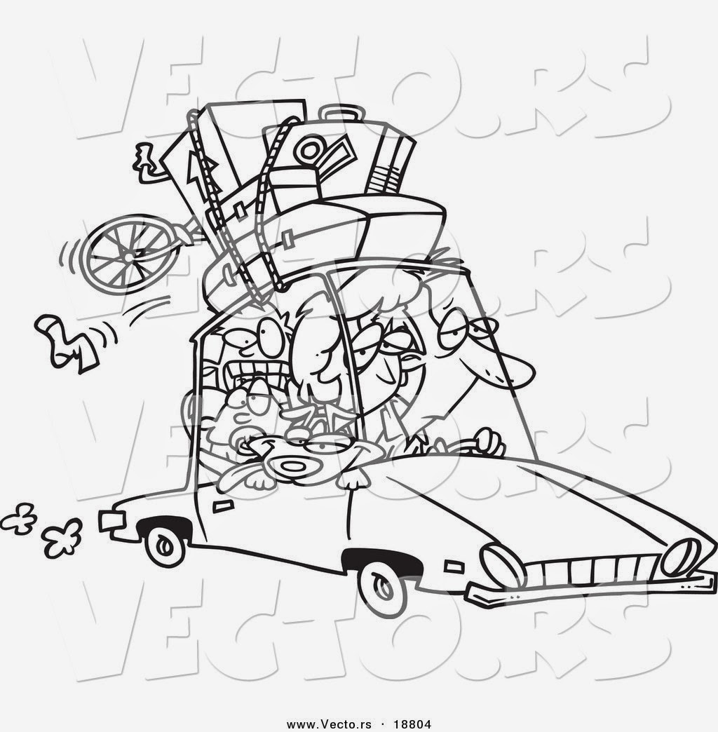 road trip usa coloring pages - photo#9