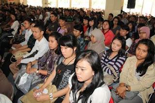 Acara Pelantikan Mahasiswa Baru Angkatan 19 dihadiri 2.356 Orang Mahasiswa Baru