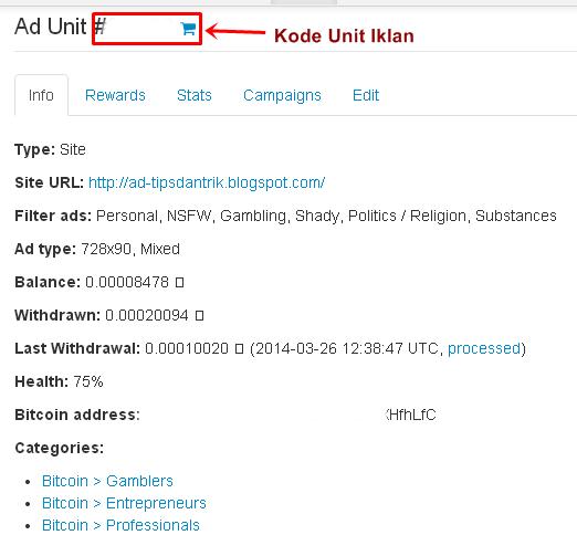 kode unit