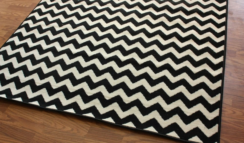 Black And White Floor Rugs Pictures