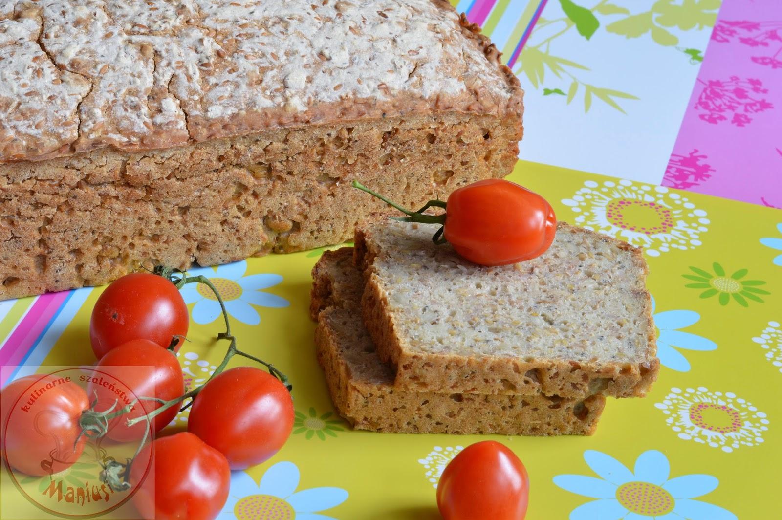 Chleb z mąką jaglaną i nasionami chia