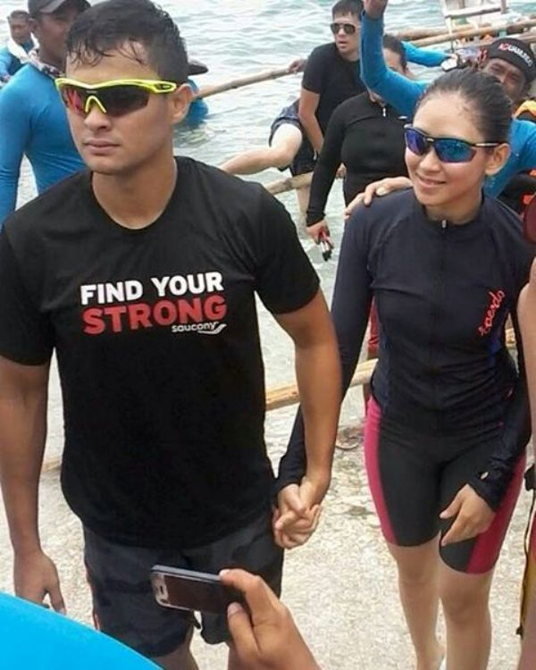Spotted: Matteo Guidicelli and Sarah Geronimo celebrate anniversary in Cebu