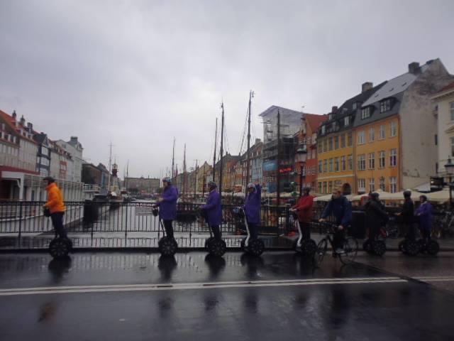 La bicicleta, uno de los principales medios de transporte de Copenhague