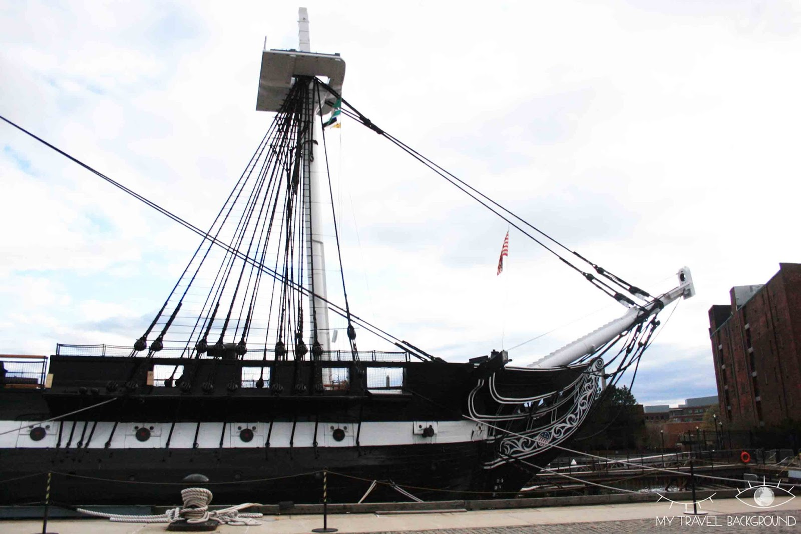 My Travel Background : USS Constitution
