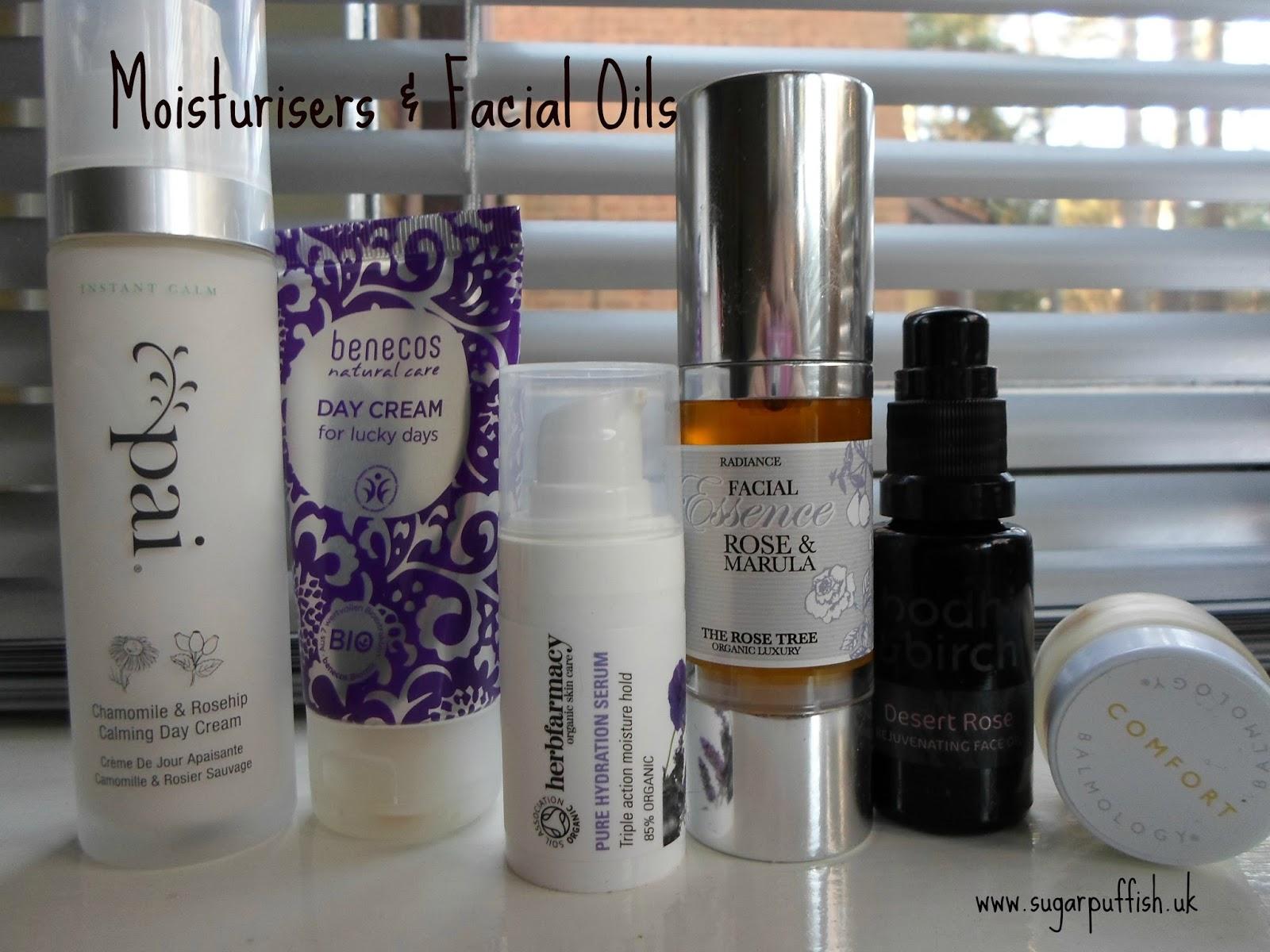 Sugarpuffish Skincare Routine Moisturisers & Facial oil, serums