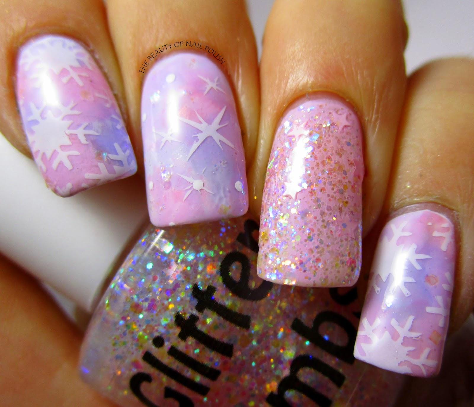 Cotton Candy Nail Polish: Glitter Lambs- Nail Polish, DIY, Beauty, Makeup And