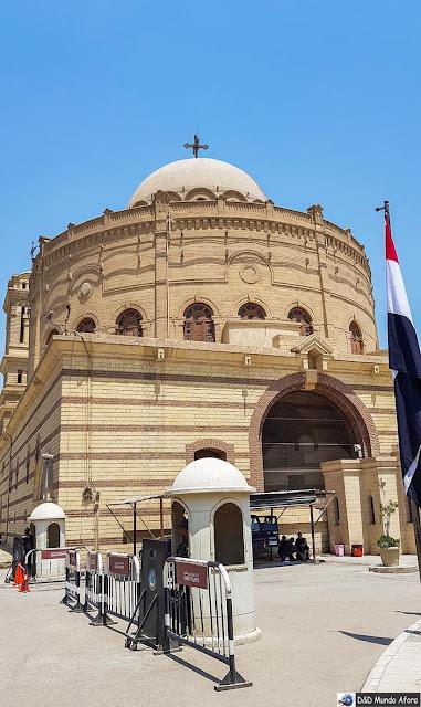 Fortaleza da Babilônia no Cairo Copta