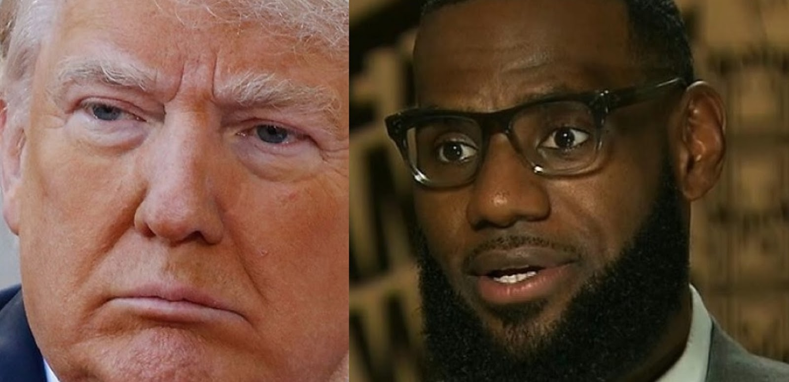 DONALD TRUMP VS. LEBRON JAMES
