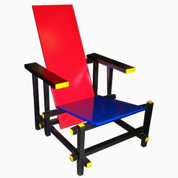 silla roja y azul gerrit thomas rietveld divagaciones arquitectonicas. Black Bedroom Furniture Sets. Home Design Ideas