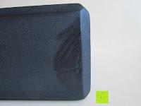 Verarbeitung: Yogablock »Aruna« / Sehr leichter Hartschaum Yoga-Block, zur Unterstützung spezieller Yoga-Übungen. In vielen Trend-Farben erhältlich.