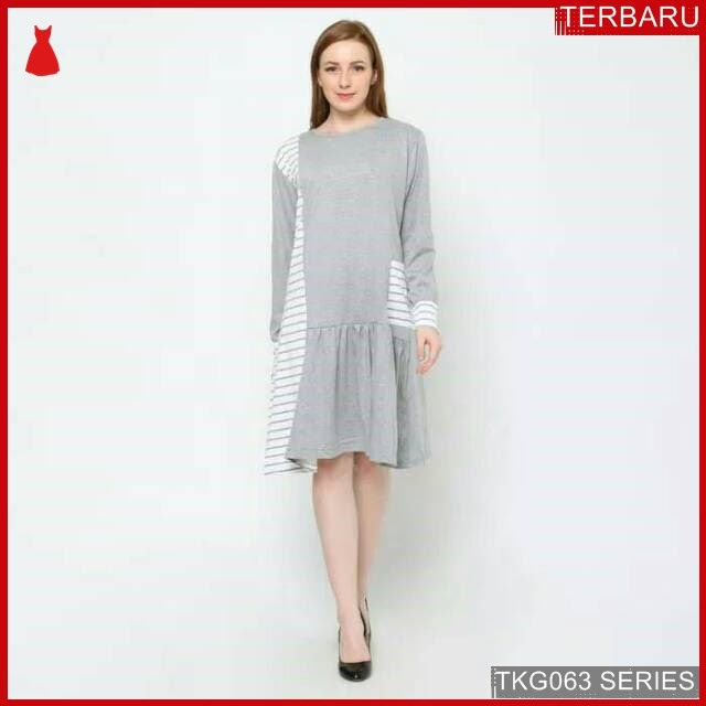 BJK63D16 Dress Tunik Lengan Murah di BMGShop