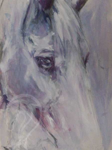 equestrian art, equestrian artist uk, contemporary equestrian art, abstract acrylic painting