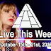 Live This Week: October 15th - 21st, 2017