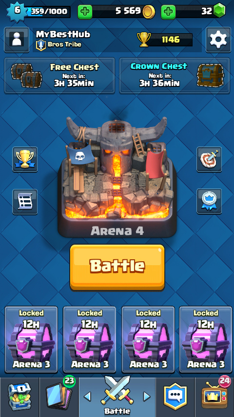 how to get magical chest in clash royale for free
