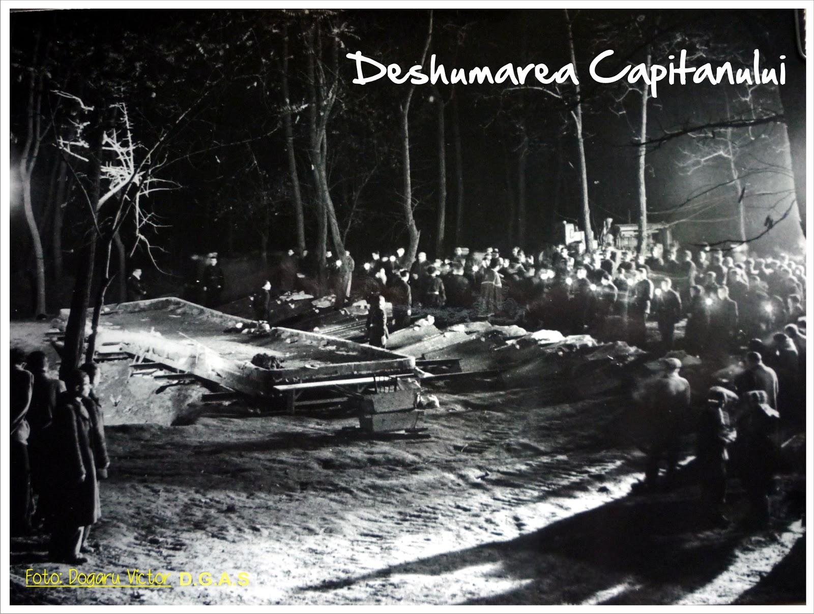 Deshumarea lui Codreanu