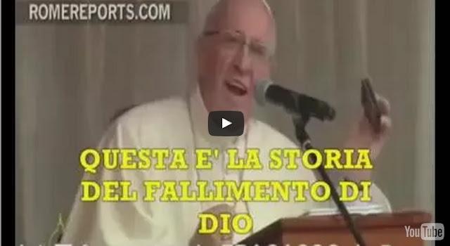 Spunta un video agghiacciante: al minuto 2:52, Papa Francesco vi gelerà il sangue nelle vene!