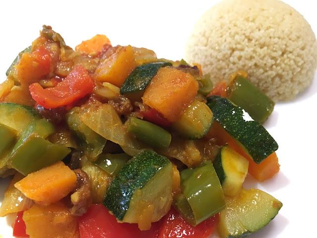 receta vegetariana facil