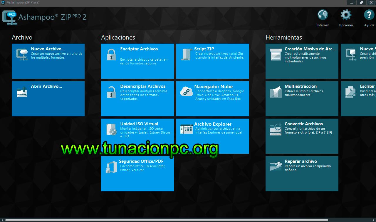 Ashampoo ZIP Pro v2.0.0.38 Imagen