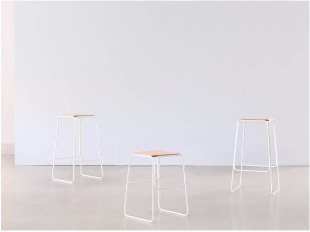 The Shuttle stool from NOMI and Tomek Archer