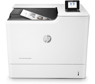 In performance for a footling to a greater extent than than a twelvemonth HP LaserJet M652n Driver Download