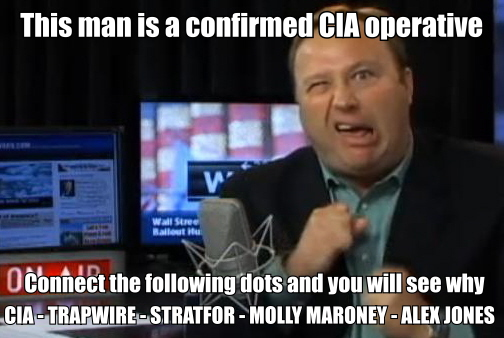The Atlantean Conspiracy: Alex Jones Admits CIA Family Connections