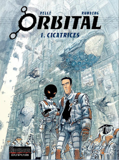 Orbital Tome 1 - Cicatrices (couverture)