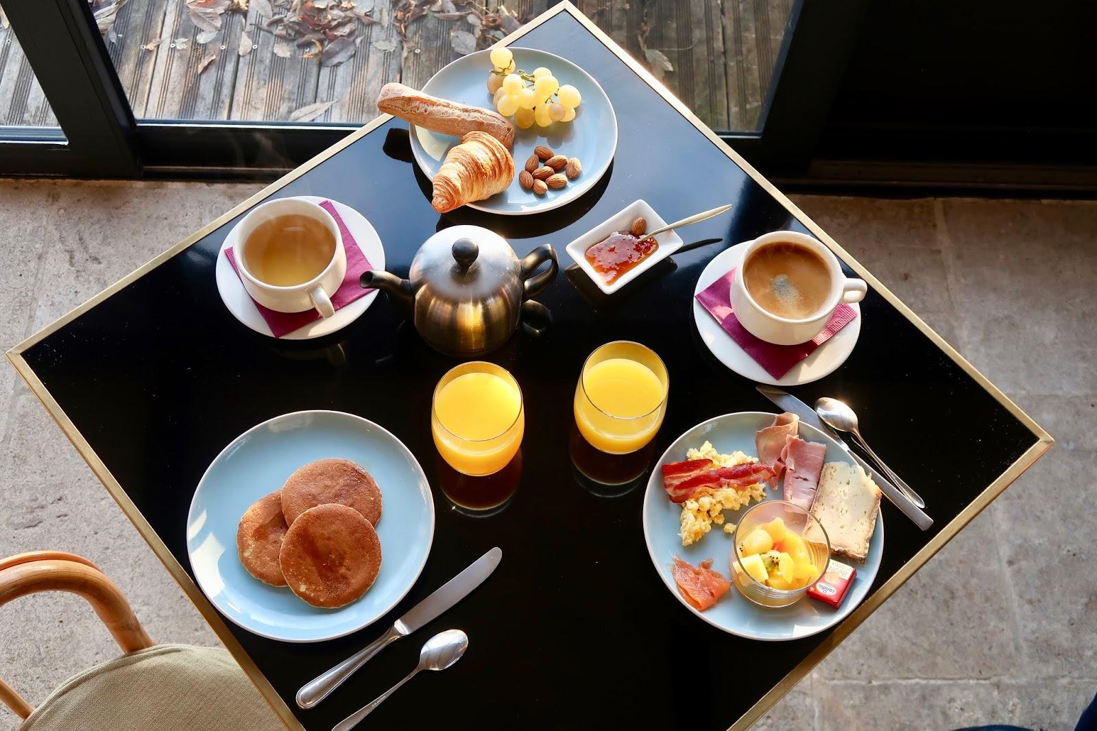 avis petit-déjeuner  domaine de Bellevue