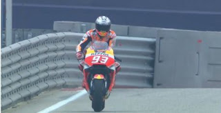 Marquez Kena Sanksi Turun Tiga Posisi di Start MotoGP Amerika