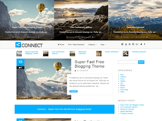 Connect Blogging WordPress Theme