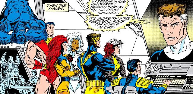 X-Men en La Guerra del Infinito