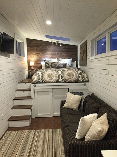 8 Staycation Worthy Tiny Homes For Sale: TINY HOUSE TOWN: The Fifth Wheel Tiny House From The