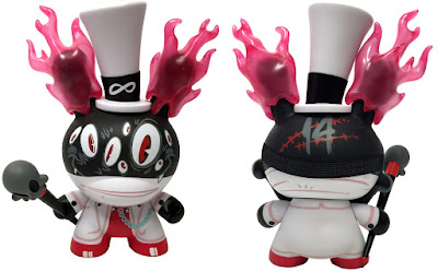 "New York Comic Con 2016 Exclusive Lord Strange Dunny 8"" Vinyl Figure by Brandt Peters x Kidrobot"