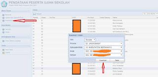 Download file DBF Calon Peserta UjSBN