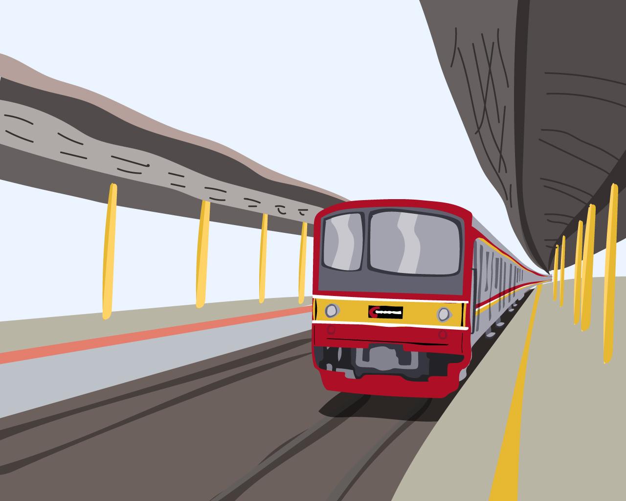 naek kereta commuterline