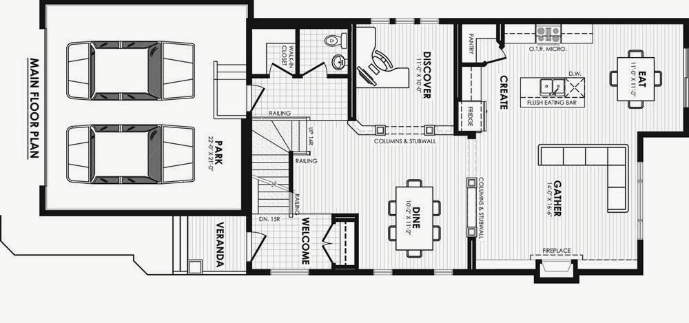 Denah Rumah  Minimalis 2 Lantai Inspirasi Desain Rumah